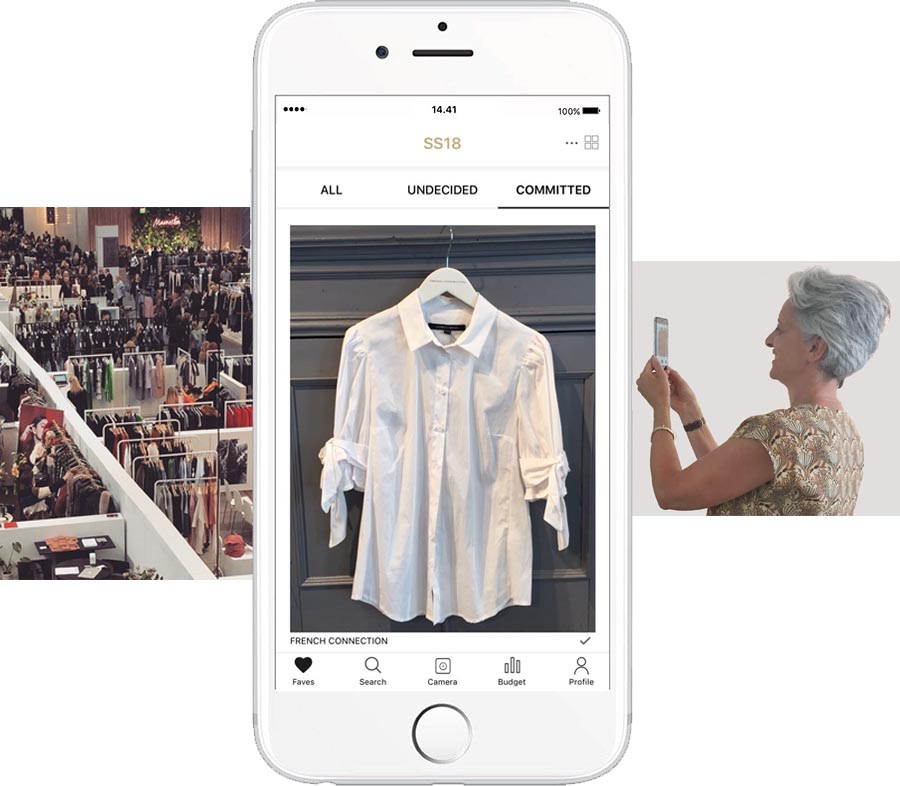 FAVES Fashion Buyer App